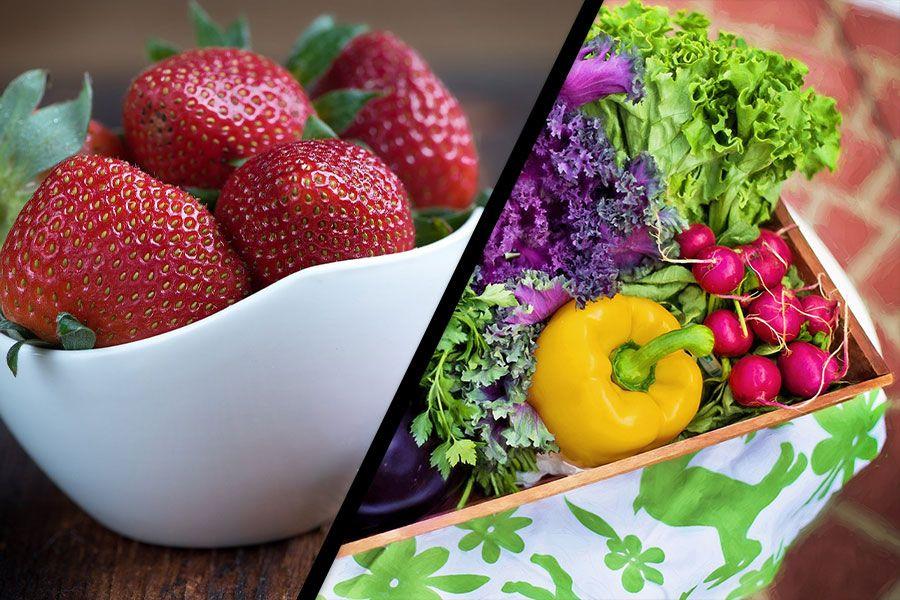 İlkbahar Meyveleri ve Sebzeleri